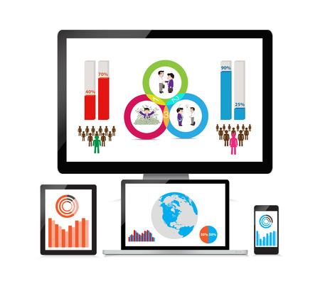 popularity: Web and SEO analytics concept