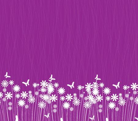 flowerbed: Spring flowers