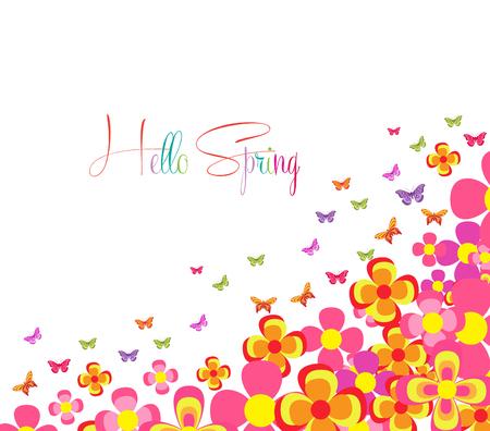 western script: Hello Spring