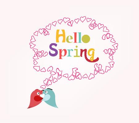 hello heart: Hello Spring with heart