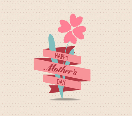 the valentine day: mothers day flower greeting card