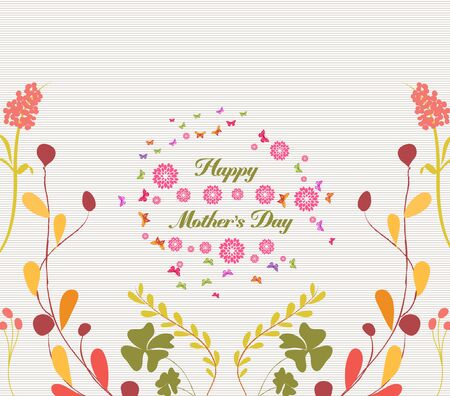 cyclamen: mothers day greeting card florals