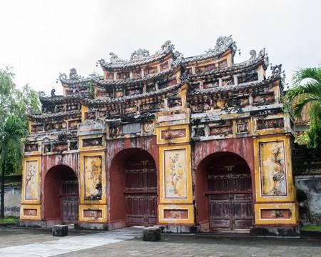 Hue Imperial City, a purple Forbidden City Editorial