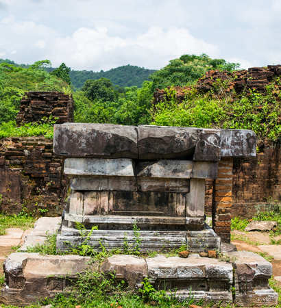 My Son sanctuary is an ancient architectural complex of the Cham people