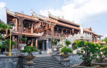 Tu Sac Khai Doan 塔ダックラック、ベトナム 写真素材