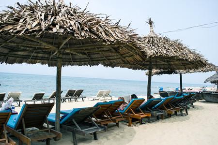 idling: An Bang Beach, Hoi An, Vietnam