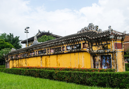 hue: Hue - Forbidden City entrance gate