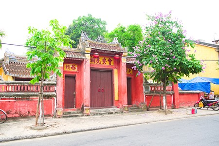 assembly hall: Cantonese assembly hall Hoi An, Vietnam