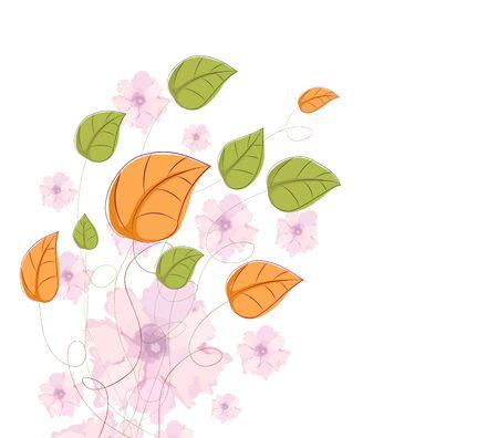 eywords background: Floral vintage background. Watercolor Flowers
