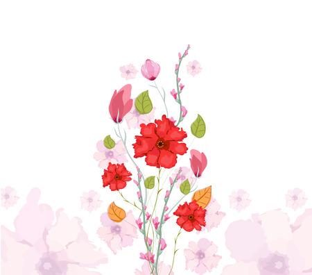 eywords background: Floral Watercolor