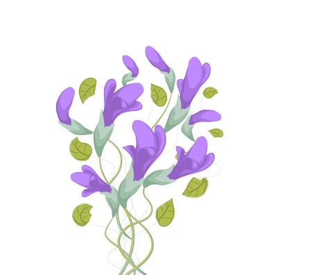 flower art: Pittura Flower Art Floral acquerello originale