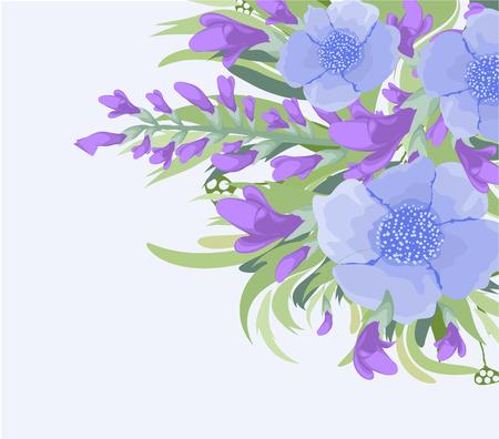 eywords background: Watercolor Floral background Bouquet
