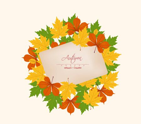dinner date: Autumn abstract floral background