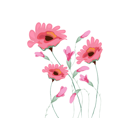 water color: beautiful water color paintings of flowers Illustration