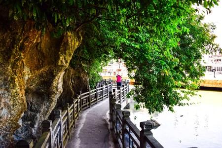 long bay: Thien Cung Cave in Ha Long Bay Vietnam Stock Photo