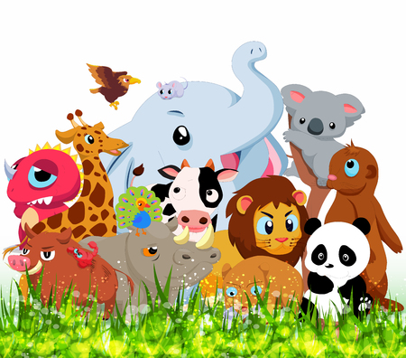 forest animals: Wild Animals Background