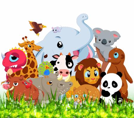 wild animals: Wild Animals Background