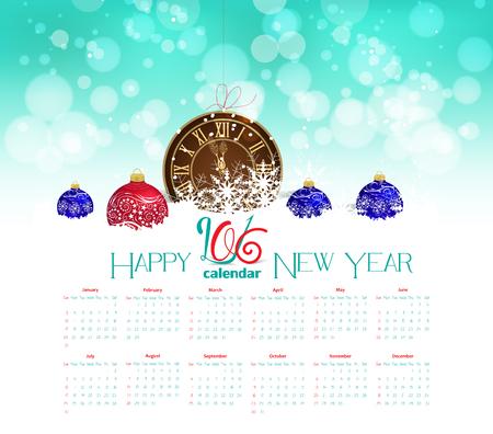 midnight hour: 2016 calendar pocket watch in snow