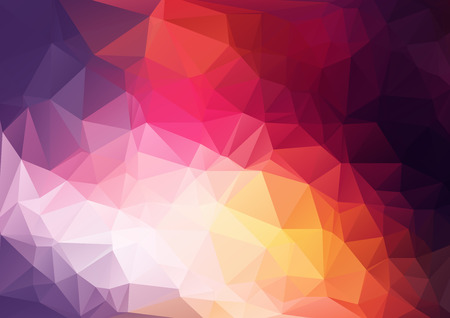 futuristic background: Abstract geometrical background Illustration
