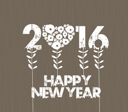 stalks: Happy new year 2016 with stalks