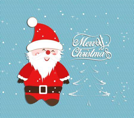 oldman: Merry Christmas Illustrations Illustration