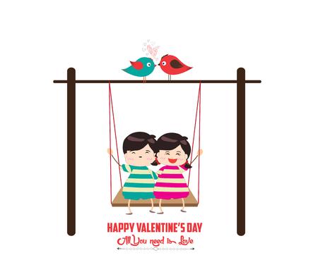 happy couple: happy valentines day with couple happy
