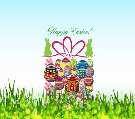 ostern: Happy Easter Background