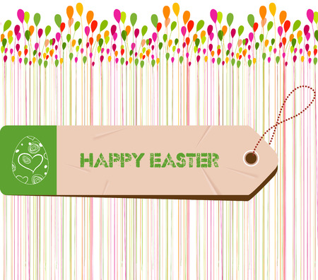 manic: Happy Easter Card. Easter egg