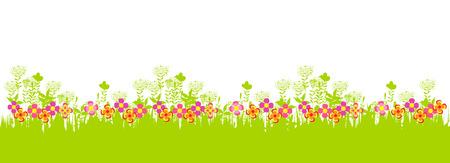 happy easter. Spring banner