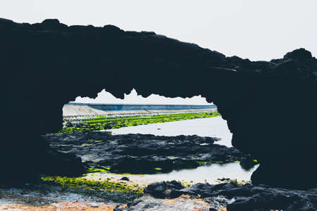 ly: Beach Rock, Ly Son, Vietnam