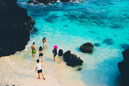 ly: Ly son island in the blue sea