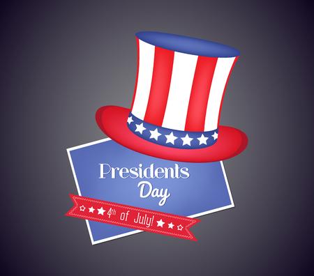 presidents: presidents day design