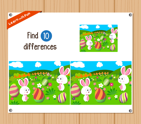find: Find differences (Happy easter)