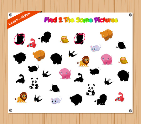 preliminary: Finding the Same Picture Educational Game for Preschool Children with Animals