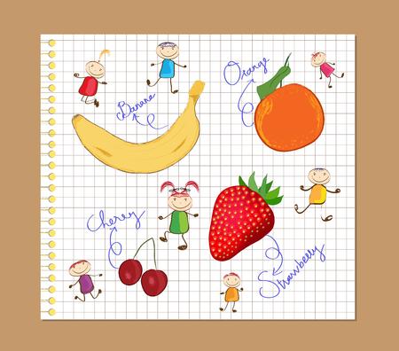 sketchbook: color pencil diary drawing sketchbook