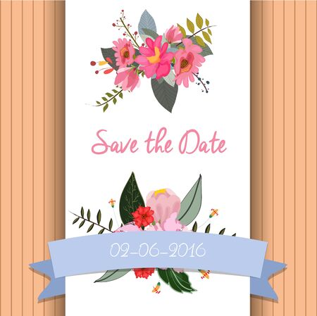 hand knot: save the date invitation template