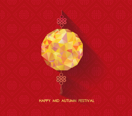 Oriental Paper geometrische lantaarn. Medio herfst festival