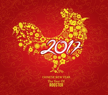 Chinese nieuwe jaar template achtergrond