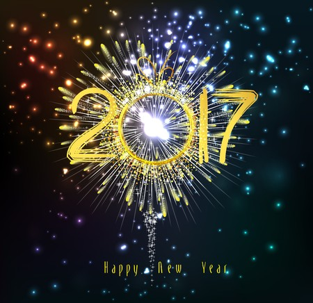 glow pyrotechnics: Happy new year 2017 Fireworks
