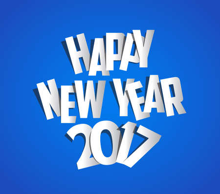 paper folding: Letter Folding with Paper, Happy New Year 2017