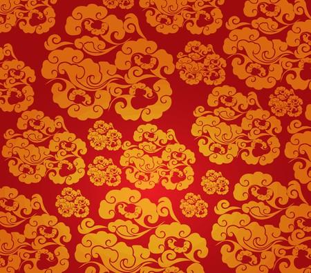 Chinese new year pattern background