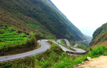 Ma Pi Leng mountain pass in Hagiang, Vietnam. Stock fotó