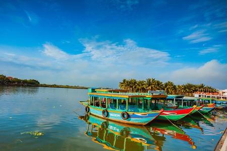 Hoi An Boats - Vietnam Editorial