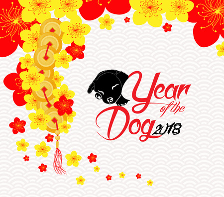 Chinese new year template. Illustration