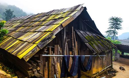 Casa Hmong tradicional