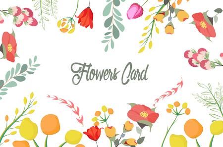 Flowers, Floral. Pretty Flowers, wedding Illustration