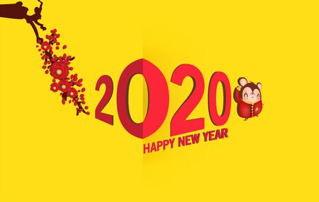 Happy New Year 2020. The year of the rat