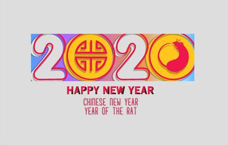 Happy chinese New Year 2020. The year of the rat