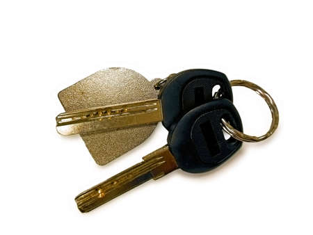 keyholder: Keys with ring and keyholder
