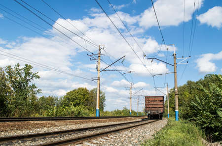 cross ties: The railroad - the operating two-acceptable electrified way